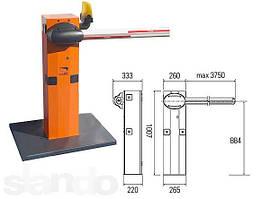 Автоматический шлагбаум CAME G3750, 24В, 100% стрела 4 м