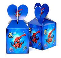 """Коробки подарочные """"Spider Man"""". В упак:6шт."""