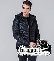 Braggart 1386 | Мужская ветровка весна-осень черный