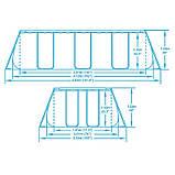 Каркасный прямоугольный бассейн BestWay 56456/56241 (412x201x122 см), фото 6