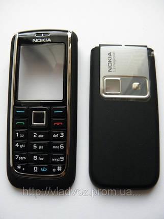 Корпус Nokia 6151 черный + клавиатура class AAA, фото 2