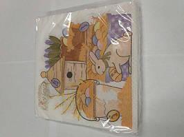 Пасхальная бумажная салфетка La Fleur  Пасхальная композиция 261