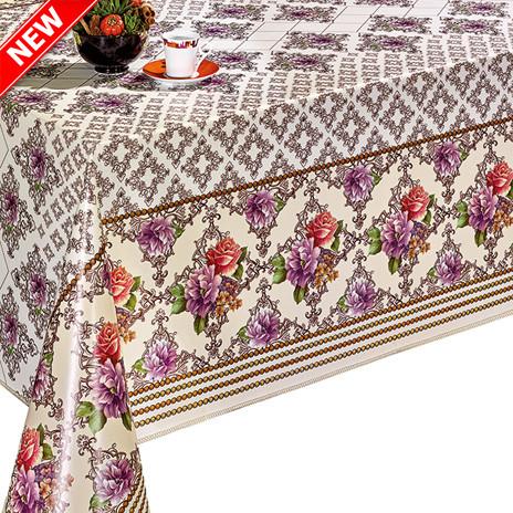 Клеенка на стол с красочным принтом, яркая и красивая