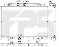 Радиатор охлаждения Nissan X-Trail T30 01-07, FP50A1348X Koyorad