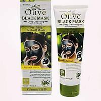 Маска для лица Wokali Olive Black Peel-off Mask