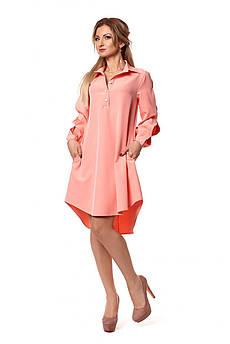 Женское платье - рубашка Размер 44 - 50 Разные цвета