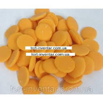 Глазурь апельсиновая в дропсах 4 кг (ящик)