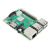 Raspberry Pi 3 Model B+ (1.4 GHz Quad Core, 1GB RAM, WiFi 2.4/5GHz, Bluetooth 4.2 BLE)