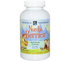 Северные ягоды, Мультивитаминные жевательные конфеты, Nordic Naturals, 200 штук