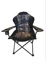 """Стул - кресло складное"""" Рыбак люкс дубки """" для рыбалки"""