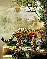 "Алмазная вышивка (набор) - ""Леопард"", фото 1"