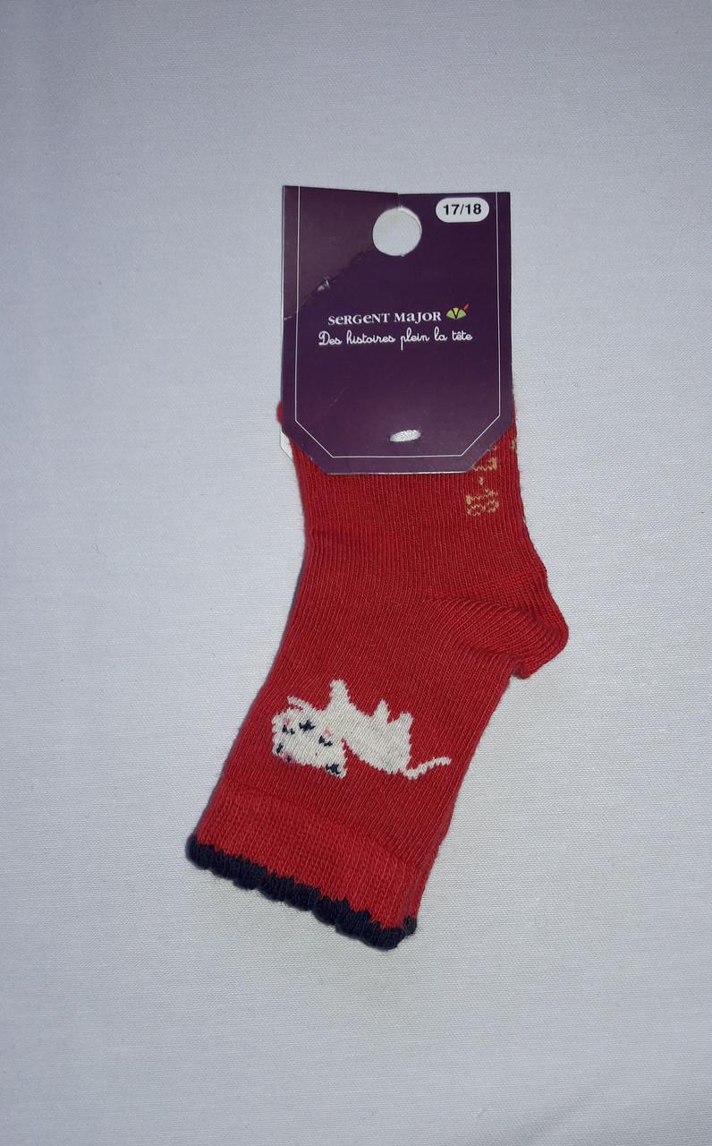 Носки для девочки Sergent Major 17-18 красные