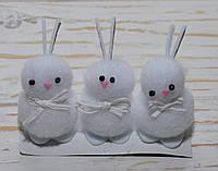 Заяц белый маленький 1 шт, фото 1