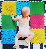 Орто пазл Ортопедический коврик пазл для самых маленьких набор Первые шаги