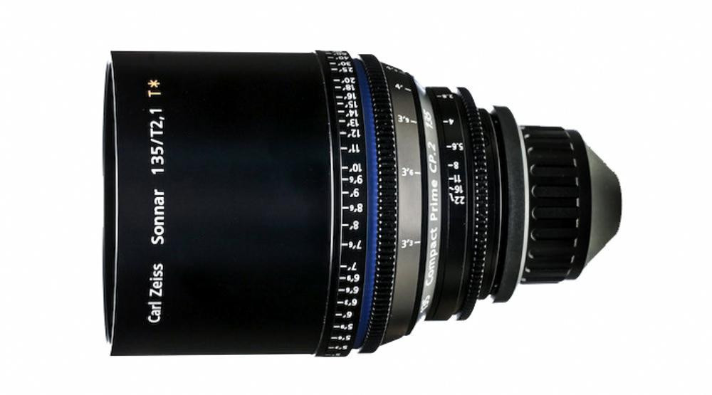 Объектив Carl Zeiss Compact Prime CP.2 135/T2.1