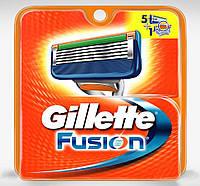 Кассеты для станка Gillette Fusion, 5 шт. (Германия)