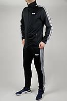 Мужской спортивный костюм Adidas 4733 Чёрный