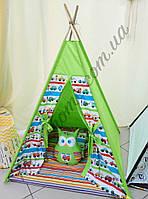"""Детский игровой домик, вигвам, палатка, шатер, шалаш, вігвам """"Гонщик"""""""