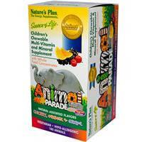 Жевательные мультивитамины для детей, Nature's Plus, 180 конфет