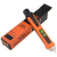 Детектор переменного (AC) напряжения Peakmeter PM8908C (12-1000 V / 50/60Hz) со звуковой и световой индикацией