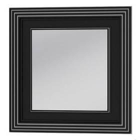 Зеркало TREVISO TM-80 чёрное Botticelli Ювента с LED светильником