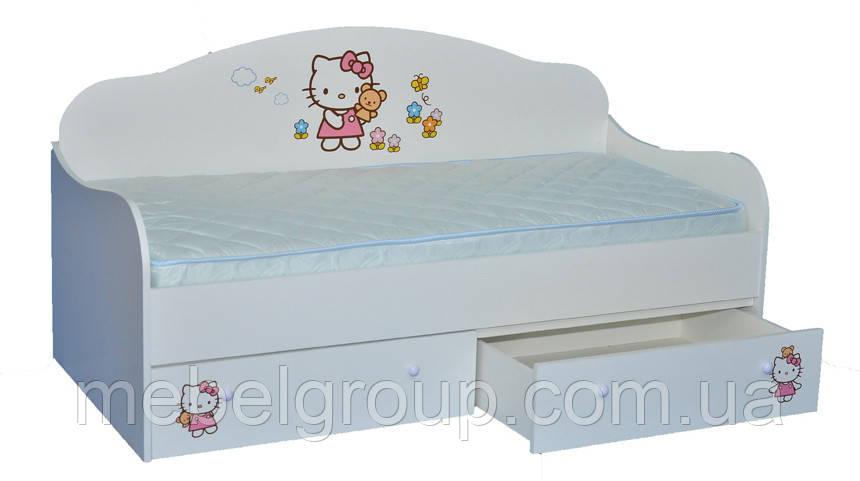 Ліжко диванчик Hello Kitty