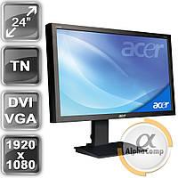 """Монитор 24"""" Acer B243HA (1920x1080/TN/LED/16:9) class B БУ"""