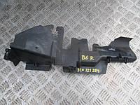Воздуховод радиатора правый Volkswagen Passat B6, 2.0 FSI, BUY, JUC 2005-2010, 3C0121284