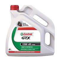 Моторное масло CASTROL GTX 15W-40 A3/B3 4л