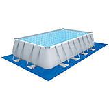 Каркасный прямоугольный бассейн BestWay 56670 (488x244x122 см), фото 2