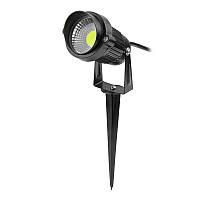 Газонный светодиодный светильник 7Вт COB  6500K LM20