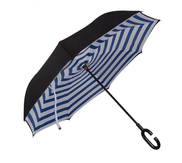 Зонт зворотного складання up-brella