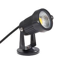 Газонный светодиодный светильник 9Вт COB  6500K LM18, фото 1