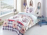 Комплект постельного белья из ранфорс (полуторный размер)