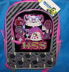 Стильний та зручний рюкзак Disney Pixar Monsters University HSS School Book Bag Америка