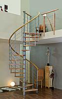 Винтовая лестница MINKA VENEZIA Ø160см серебро Австрия