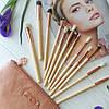 Набор кистей для макияжа Zoeva ROSE GOLDEN 12 штук [реплика], фото 2