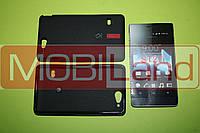 """Чохол силікон """"S""""  Sony Ericsson St27/Xperia Go bl"""