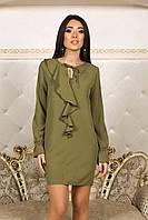 Платье Лаура в цвете хаки, фото 1