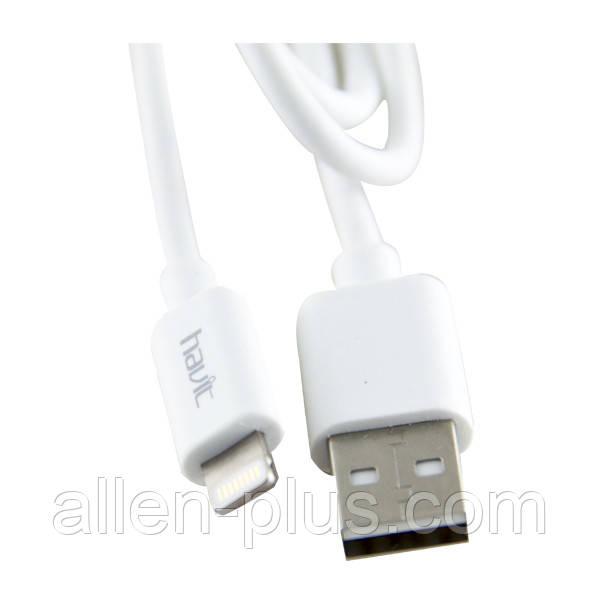 Кабель для передачи данных iPhone / iPad HV-CB8501 (USB / Lighting), 1м, white