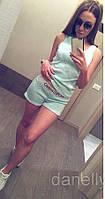 Майка и шорты вязка реплика Moschino, фото 1