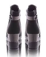Женские ботинки на танкетке 17674 -  фирменная обувь демисезон RE- Inblu