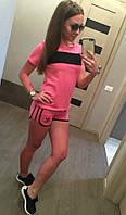 Костюм шорты и футболка лимовка реплика  adidas , фото 1