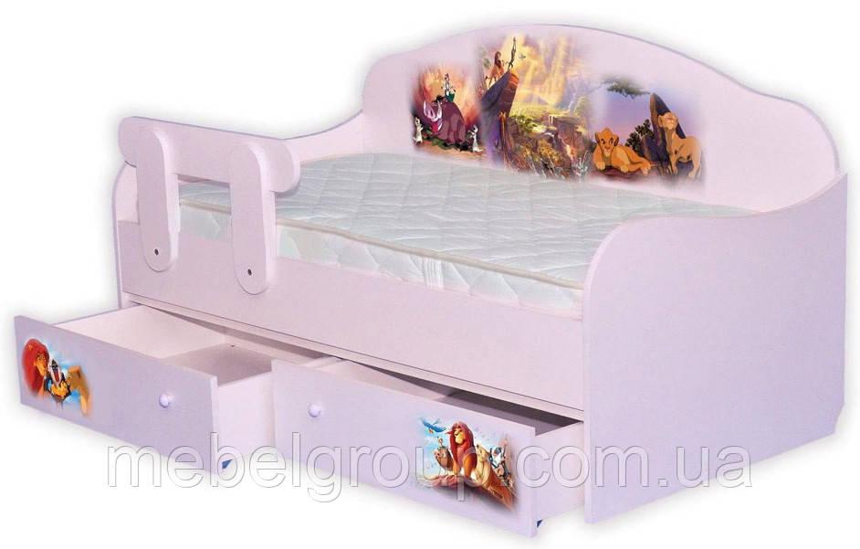 Кровать диванчик Король Лев