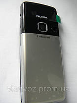 Корпус Nokia 6300 металлик без клавиатуры class AAA, фото 3