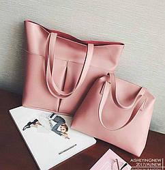 Женская сумка 2в1 9007 (33 х 40 см.) купить оптом со склада