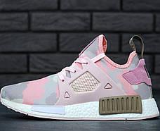 """Женские кроссовки в стиле Adidas NMD XR1 Duck Camo """"Pink"""""""