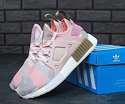 """Женские кроссовки в стиле Adidas NMD XR1 Duck Camo """"Pink"""", фото 2"""
