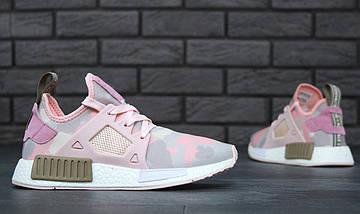 """Женские кроссовки в стиле Adidas NMD XR1 Duck Camo """"Pink"""", фото 3"""