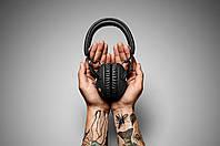 Беспроводные Наушники Marshall Monitor Bluetooth Black